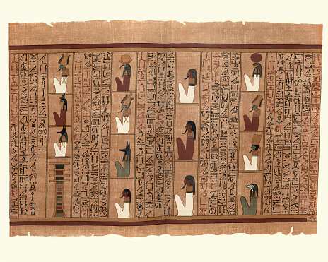 Ancient Egyptian Papyrus of Ani, Fifteen Powers of Localities