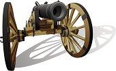 ancient field gun