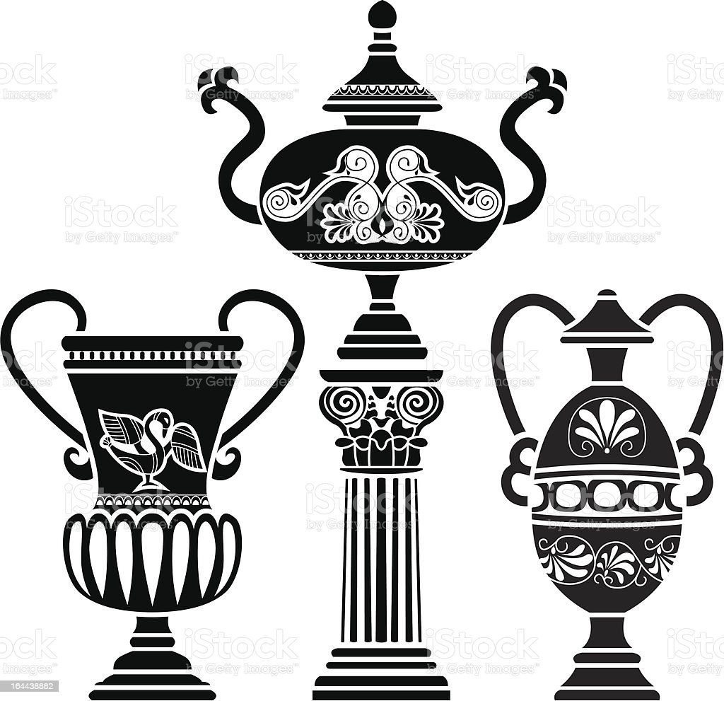 Ancient greek vase stock vector art more images of abstract ancient greek vase royalty free ancient greek vase stock vector art amp more images reviewsmspy