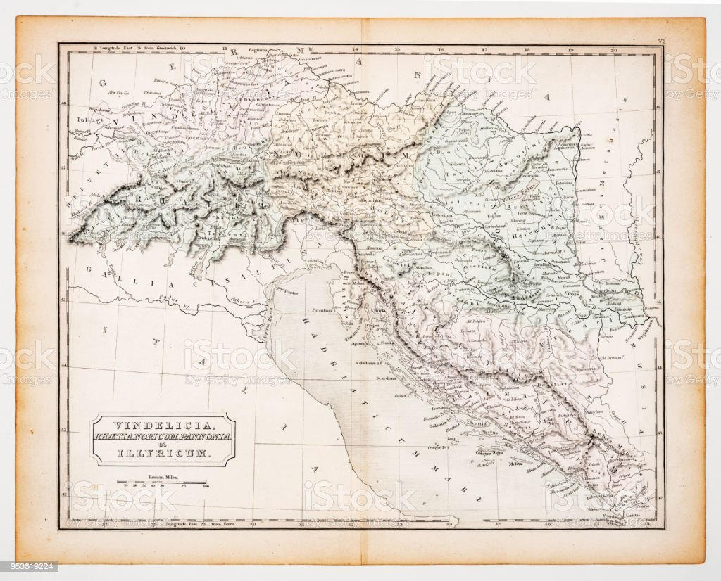 Ancient map of italy 1863 stock vector art more images of ancient ancient map of italy 1863 royalty free ancient map of italy 1863 stock vector art gumiabroncs Images