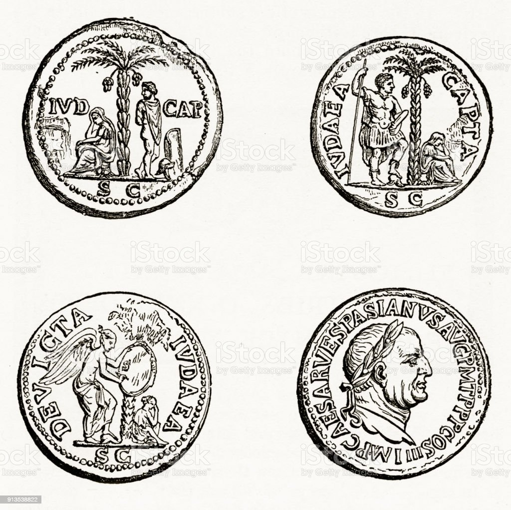 Ancient roman and greek coins with christian symbolism engraving ancient roman and greek coins with christian symbolism engraving royalty free ancient roman and greek biocorpaavc