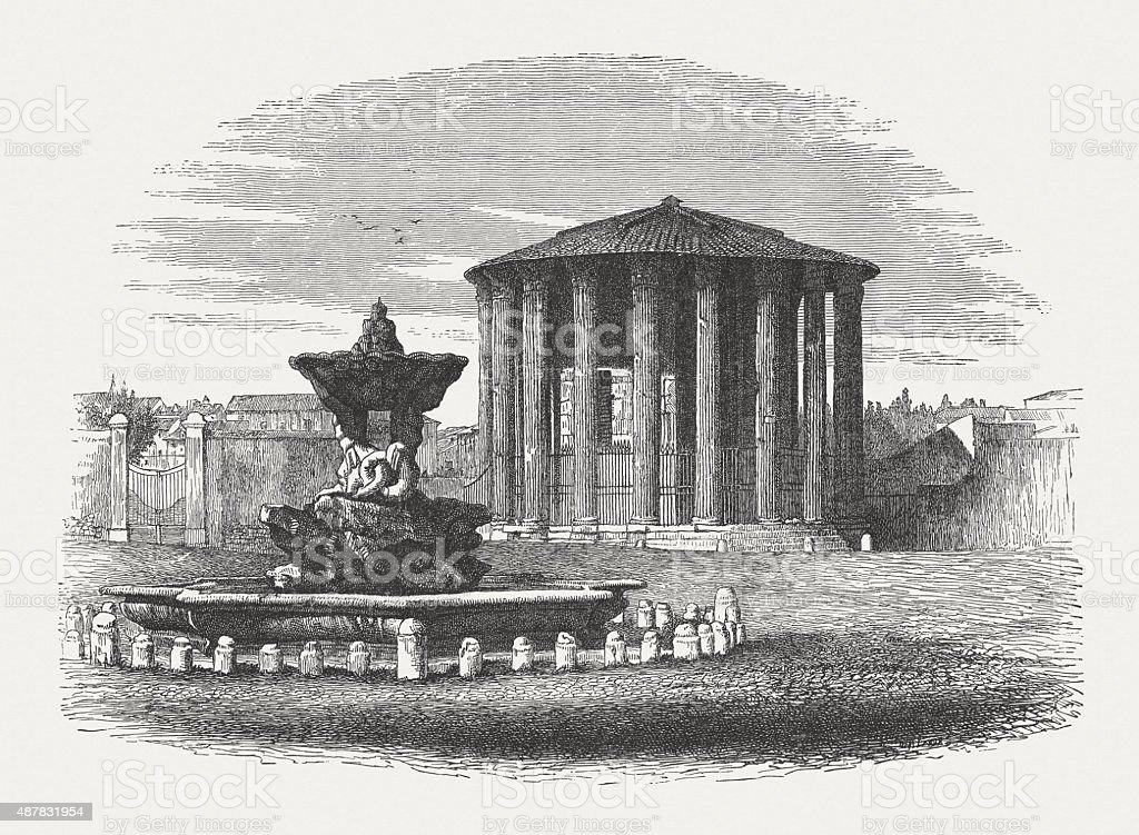古代寺院のハーキュリーズヴィク...