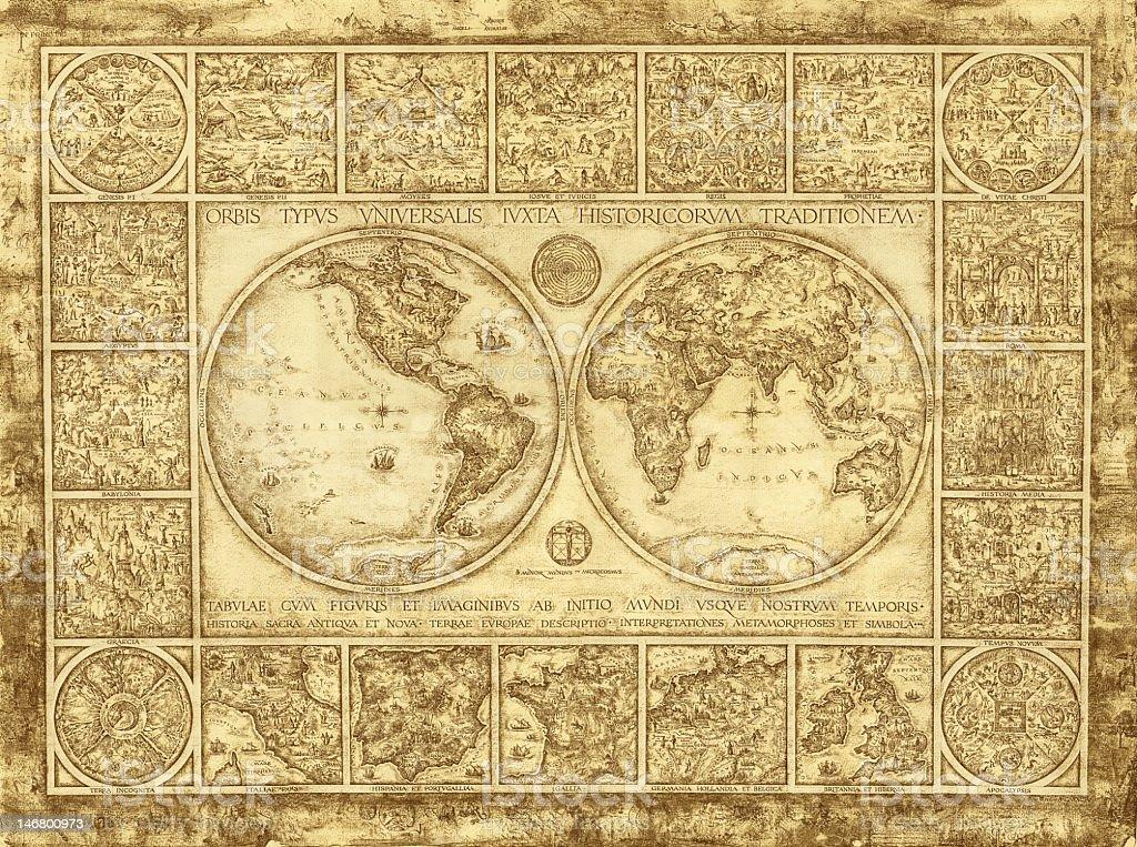 carte ancienne du monde cliparts vectoriels et plus d 39 images de antique 146800973 istock. Black Bedroom Furniture Sets. Home Design Ideas