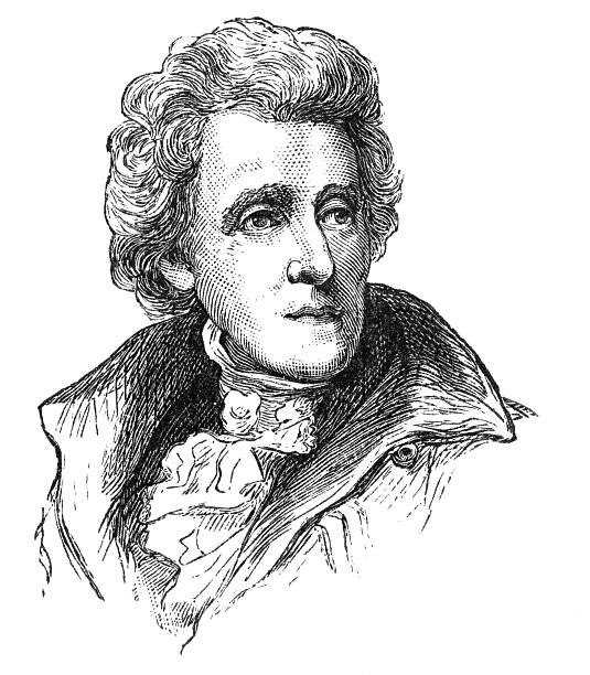 Best Andrew Jackson Illustrations, Royalty-Free Vector