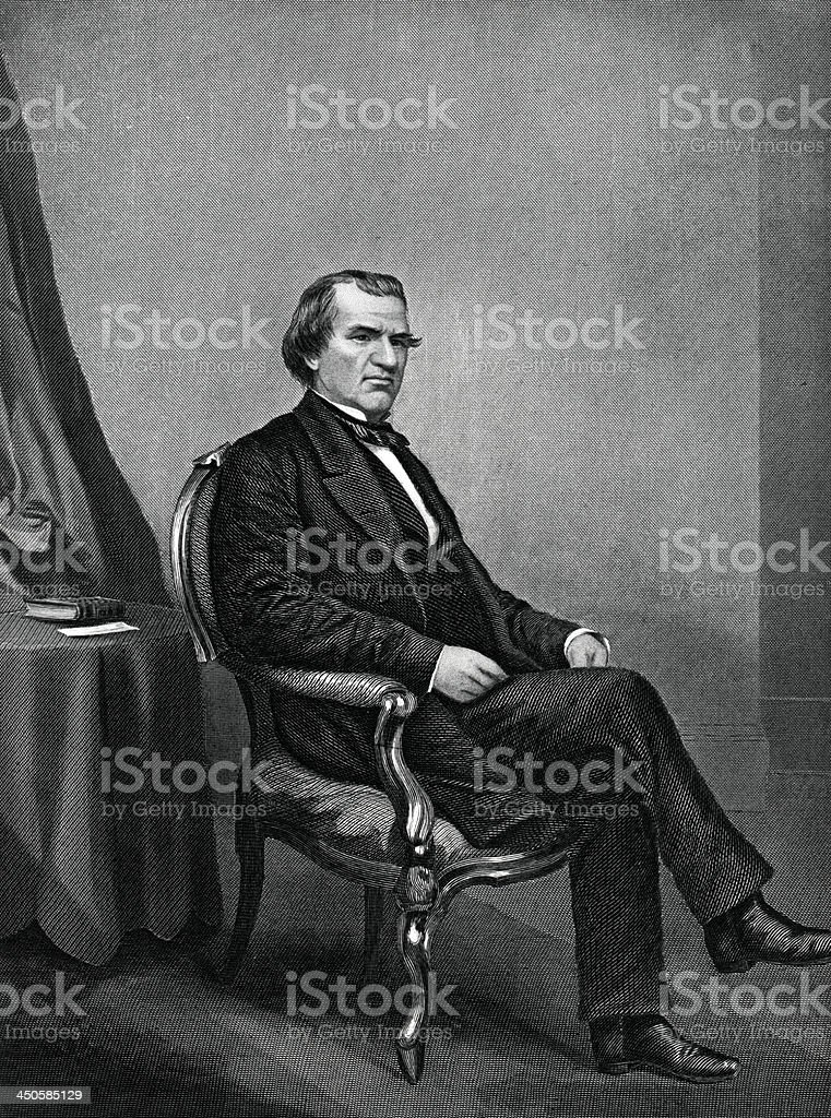 Andrew Johnson royalty-free andrew johnson stock vector art & more images of 19th century