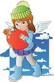 Angels like apples