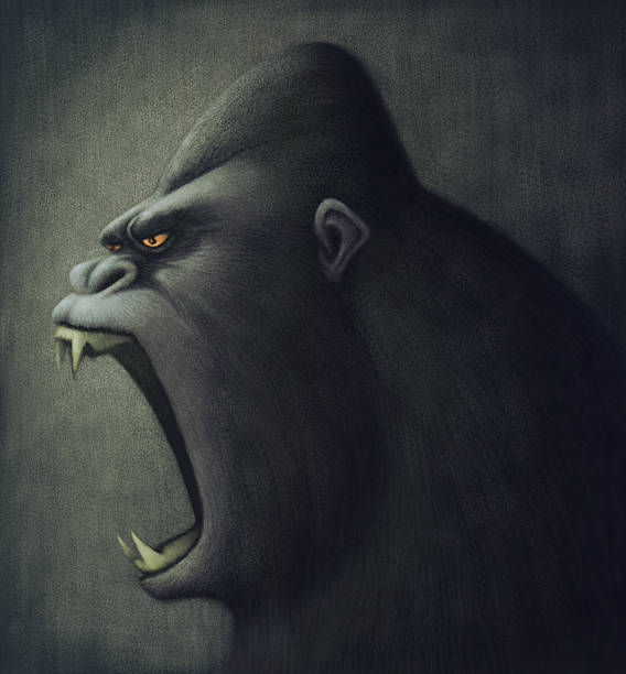 Top 60 Angry Gorilla Clip Art, Vector Graphics and ... - photo#20