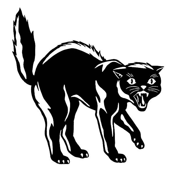 Royalty Free Bad Kitty Clip Art, Vector Images ...