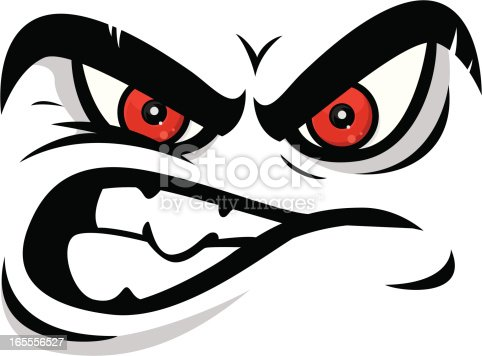 istock angry face 165556527