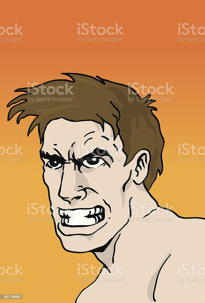 Angry Male royalty-free angry male stock vector art & more images of adult
