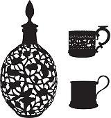 Antiquarian tableware