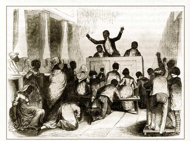 24 African American Church Illustrations & Clip Art - iStock