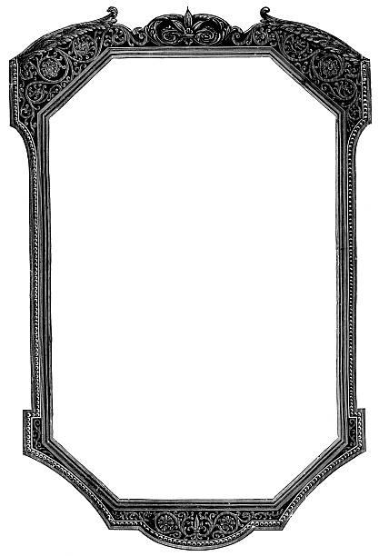 134 Ornate Mirror Frames Drawing Illustrations Royalty Free Vector Graphics Clip Art Istock