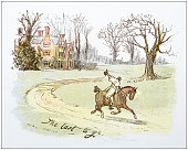 Antique illustration by Randolph Caldecott
