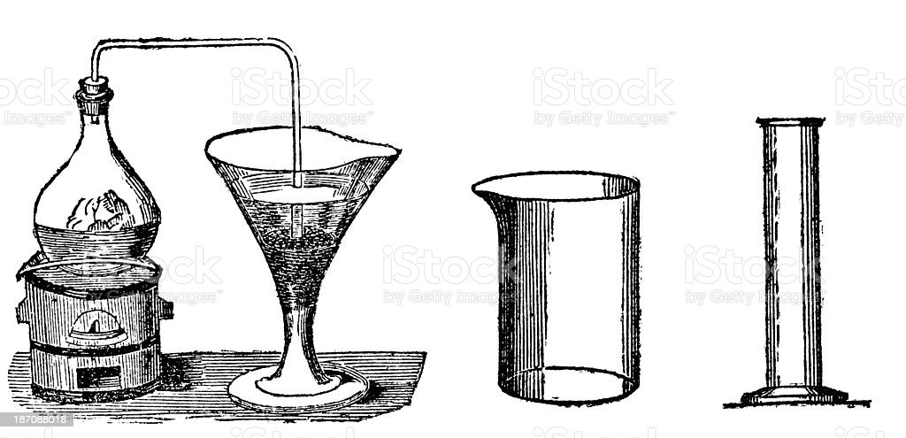 Antique illustration of chemistry experiment royalty-free antique illustration of chemistry experiment stock vector art & more images of 19th century style