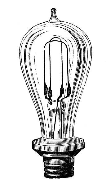 Antique Light Bulb Illustrations, Royalty-Free Vector ...