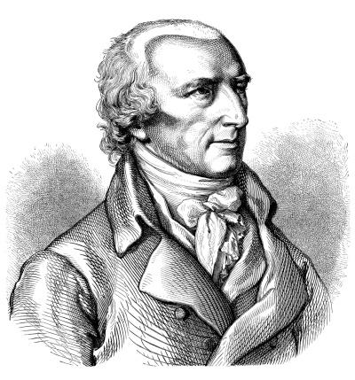Antique illustration of Joachim-Henri Campe