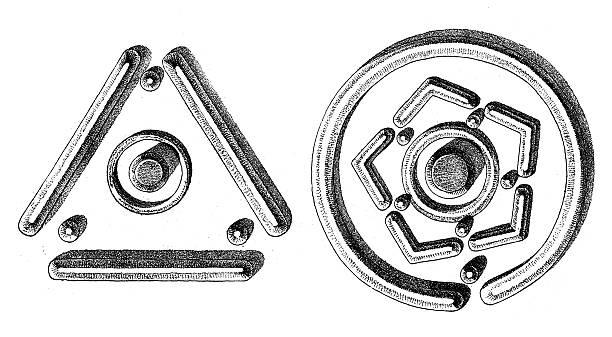 Hopi Pottery Symbols Illustrations