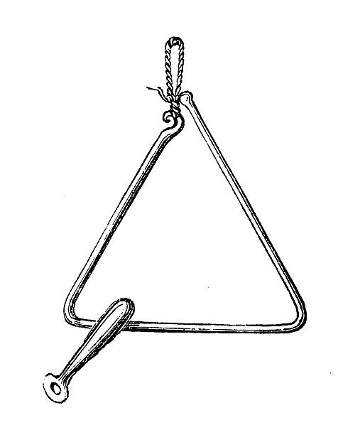 Royalty Free Drawing Of The Triangle Objects Clip Art ...
