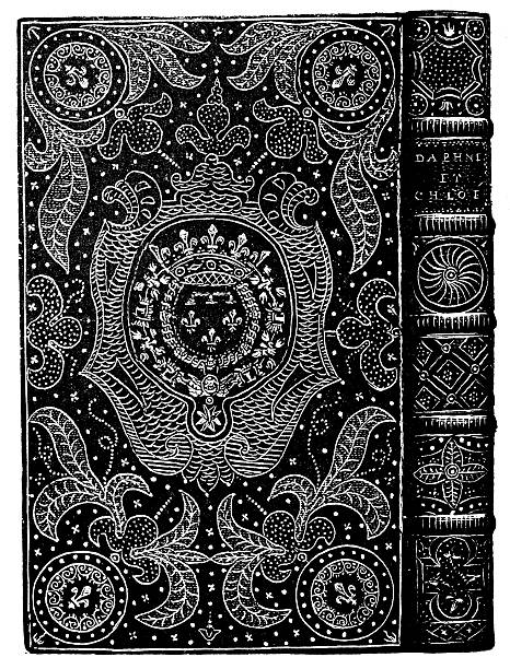 Old Book Cover Vector Free Download : Royalty free antique book cover clip art vector images