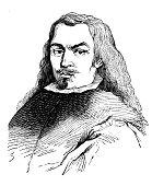 istock Antique illustration: Portrait of Bartolomé Esteban Murillo 912693984