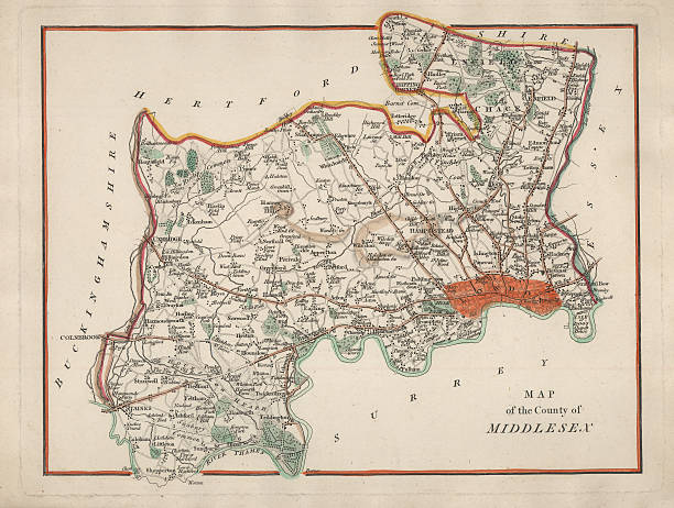 Map Of England 950.Top 60 Surrey England Clip Art Vector Graphics And Illustrations