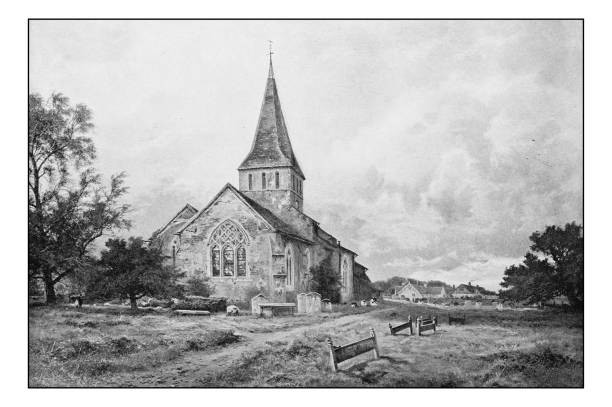 Royalty Free Old Church Clip Art, Vector Images ...