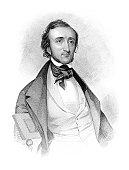 istock Antique Portrait of American Writer and Poet Edgar Allan Poe 122194207