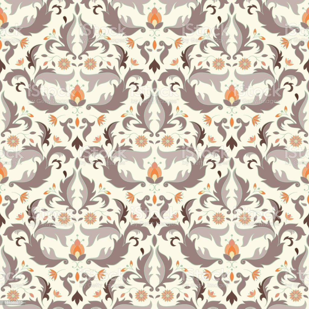 Antique seamless pattern royalty-free stock vector art