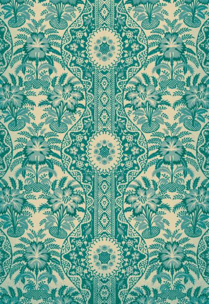 Textile ancien - Illustration vectorielle