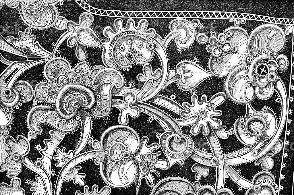 Antique Venetian Lace royalty-free antique venetian lace stock vector art & more images of antique