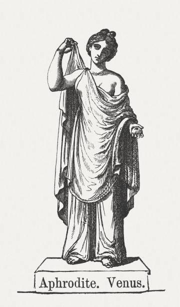 афродита - venus stock illustrations