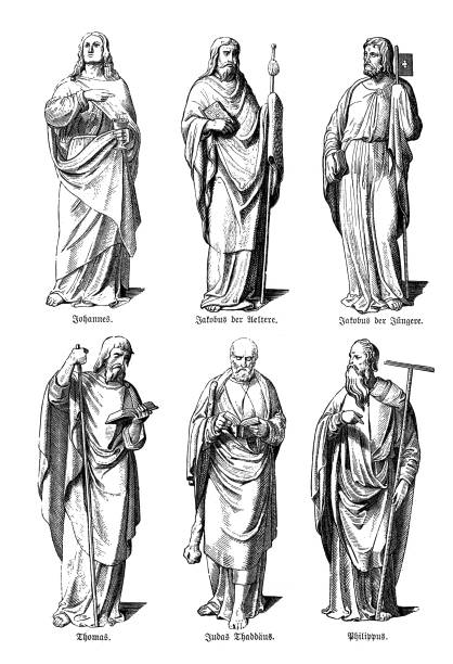 Apostle Illustrations, Royalty-Free Vector Graphics & Clip
