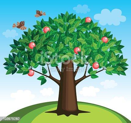 istock Apple tree 103975282