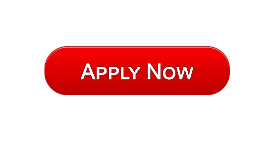 Apply Now Web Interface Button Red Color Online Education Program Vacancy Stock Illustration - Download Image Now - iStock