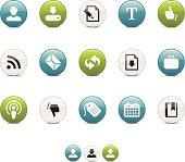 Aqua Icons | Blogging and Internet