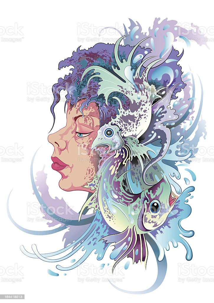 Aquarius-Frau