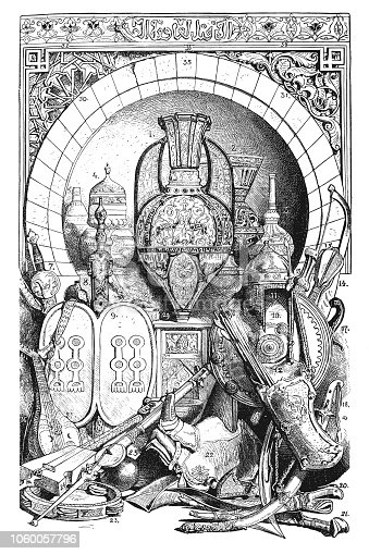 illustration of  Moorish culture