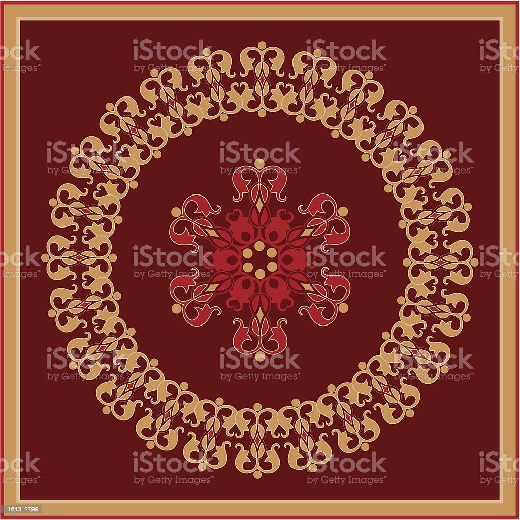 arabian ornament royalty-free stock vector art