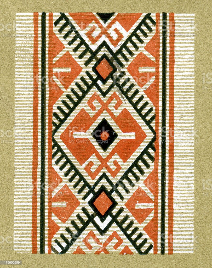 Arabic Pattern royalty-free stock vector art