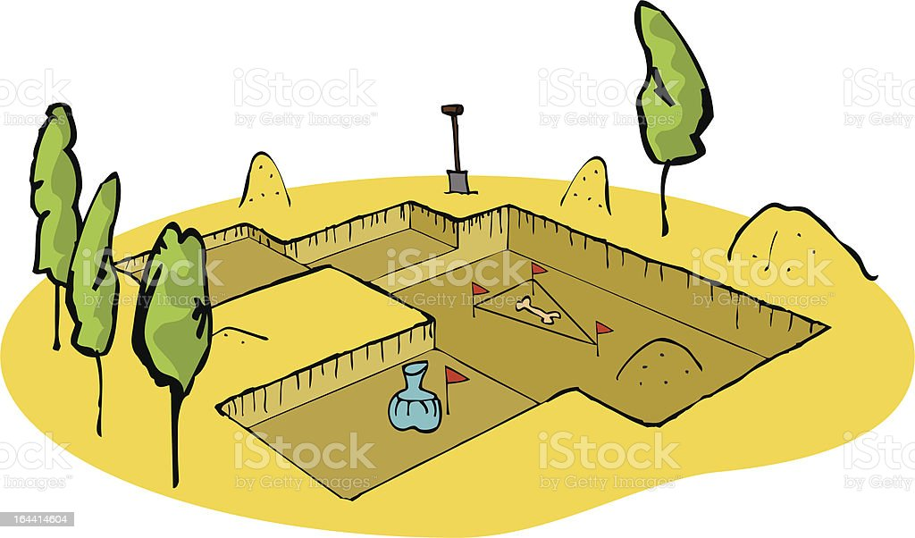 royalty free archaeology dig clip art vector images illustrations rh istockphoto com archaeology clip art