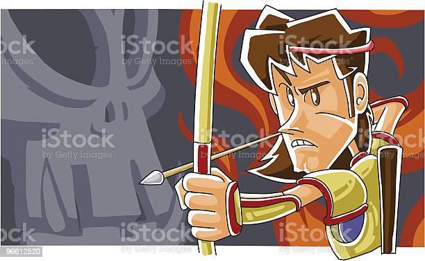 Archer — стоковая векторная графика и другие изображения на тему Archery