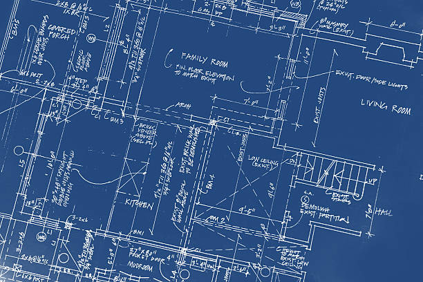 Architectural - 45 vector art illustration