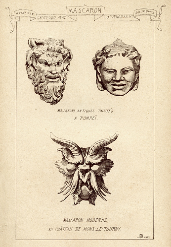 Architecture, Architectural cravings, Mascaron, Ornamental face