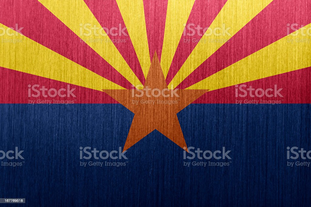 Arizona Flag vector art illustration
