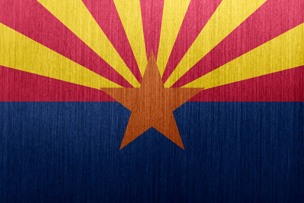Arizona Flag vector art illustration