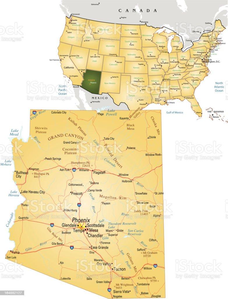 arizona royalty-free arizona stock vector art & more images of ajo - arizona