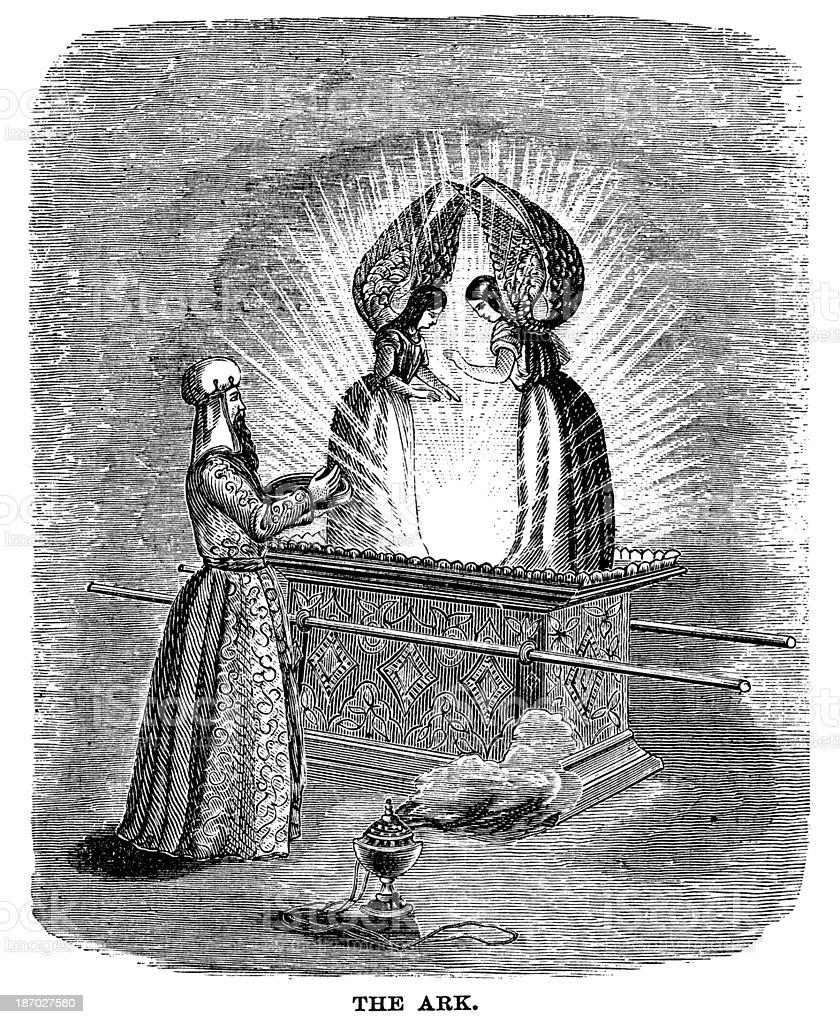 Ark Of The Covenant vector art illustration