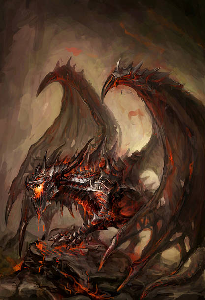 royalty free angry dragon pictures clip art vector images