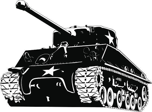 Royalty Free Military Tank Clip Art, Vector Images ...